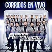 Corridos En Vivo, Vol. 3 de Banda Renovacion