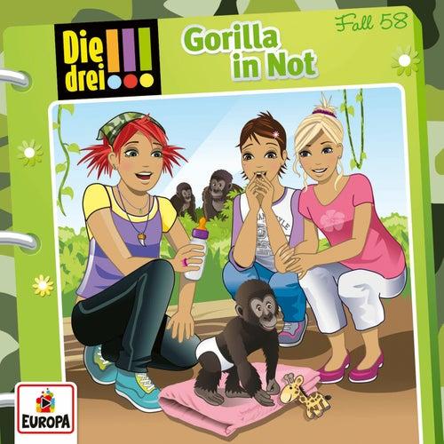 058/Gorilla in Not von Die Drei !!!