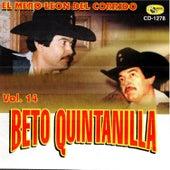 El Mero Leon del Corrido, Vol .14 de Beto Quintanilla