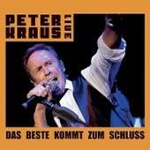 Live - Das Beste kommt zum Schluss by Peter Kraus