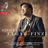 Elgar & Finzi Violin Concertos de Ning Feng