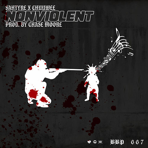 NonViolent (feat. Chuuwee) by Sahtyre