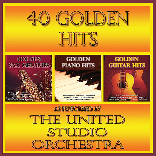 40 Golden Hits (Instrumental) de United Studio Orchestra