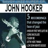 Savoy Jazz Super EP: John Hooker de John Lee Hooker