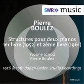 Boulez: Structures, Books 1 & 2 de Yvonne Loriod