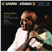 Piatigorsky Plays Stravinsky, Debussy, Busoni & Foss by Gregor Piatigorsky