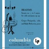 Brahms: Cello Sonata No. 2 in F Major & Beethoven: Cello Sonata No. 5 in D Major (Remastered) de Gregor Piatigorsky