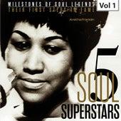 Milestones of Soul Legends: Five Soul Superstars, Vol. 1 van Aretha Franklin