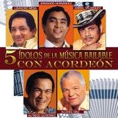 5 Ídolos de la Música Bailable Con Acordeón de Various Artists