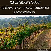 Rachmaninoff: Complete Etudes-Tableaux & 3 Nocturnes by Claudio Colombo