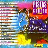 Pistas Para Cantar Como Ana Gabriel de Orquesta Melodía