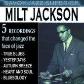 Savoy Jazz Super EP: Milt Jackson by Milt Jackson