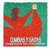 Cumbias y Gaitas Famosas de Colombia (Vol. 2) de Various Artists