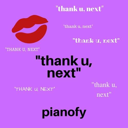 thank u, next (Piano Instrumental) von Pianofy