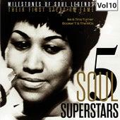 Milestones of Soul Legends: Five Soul Superstars, Vol. 10 de Various Artists