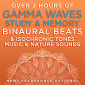 Over 2 Hours of Gamma Waves Study & Memory Binaural Beats & Isochronic Tones Music & Nature Sounds de Binaural Beats Research