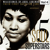 Milestones of Soul Legends: Five Soul Superstars, Vol. 4 von James Brown