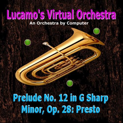 Prelude No. 12 in G Sharp Minor, Op. 28: Presto von Luis Carlos Molina Acevedo