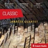 Janáček Quartet plays Schulhoff, Korngold, Haas von Janáček Quartet