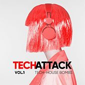Tech Attack (Tech House Bombs), Vol. 1 de Various Artists