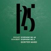 Mozart: Symphony No. 40 - Schubert: Symphony No. 5 (Live) by Münchner Philharmoniker