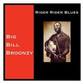Rider Rider Blues de Big Bill Broonzy