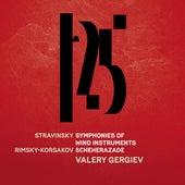 Stravinsky: Symphonies of Wind Instruments, Rimsky-Korsakov: Scheherazade - Rimsky-Korsakov: Scheherazade, Op. 35 (Live) de Münchner Philharmoniker