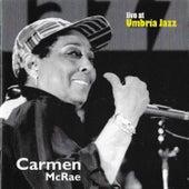 Carmen McRae Live at Umbria Jazz de Carmen McRae