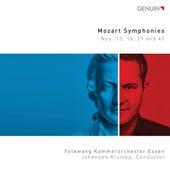 Mozart: Symphonies Nos. 13, 16, 29 & 40 de Folkwang Kammerorchester Essen