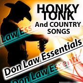 HONKY TONK And COUNTRY SONGS (Don Law Essentials 1956-1962) de Various Artists