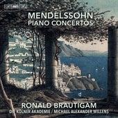Mendelssohn: Piano Concertos di Ronald Brautigam