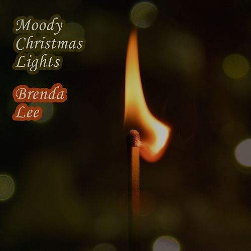 Moody Christmas Lights by Brenda Lee