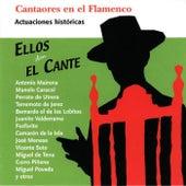 Cantaores en el Flamenco: Ellos Dan el Cante (En Directo) de Various Artists