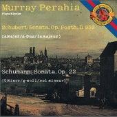 Schubert: Piano Sonata No. 20 in A Major - Schumann: Piano Sonata No. 2 in G Minor von Murray Perahia