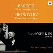 Bartók: Piano Concerto No. 1, Sz. 83 - Prokofiev: Piano Concerto No. 4 in B-Flat Major, Op. 53 by Various Artists