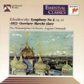 Tchaikovsky: Symphony No. 4, 1812 Overture & Marche slave von Eugene Ormandy