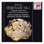 Brahms: Serenade No. 1, Op. 11, Tragic Overture, Op. 81 & Academic Festival Overture, Op. 80 von Michael Tilson Thomas