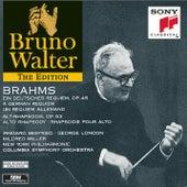 Brahms: Ein deutsches Requiem, Op. 45 & Alto Rhapsody, Op. 53 de Bruno Walter
