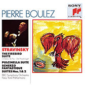 Stravinsky: The Firebird Suite; Pulcinella Suite; Scherzo Fantastique; Suites Nos. 1 & 2 de Pierre Boulez