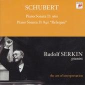 Schubert: Piano Sonata, D. 960; Piano Sonata, D. 840