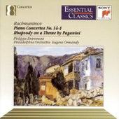 Rachmaninoff: Piano Concertos Nos. 1 & 4; Paganini's Rhapsody de Eugene Ormandy