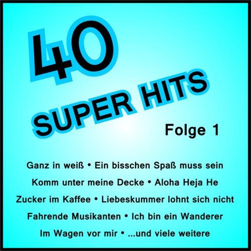 40 Super Hits, Folge 1 von Various Artists