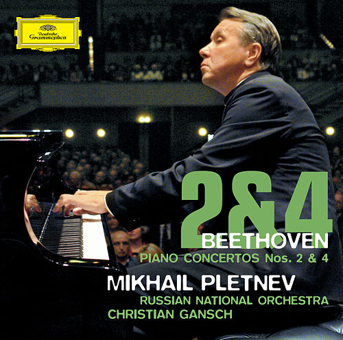 Beethoven: Piano Concertos Nos. 2 & 4 de Mikhail Pletnev