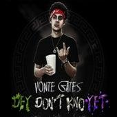 Dey Don't Kno Yet by Vonte Gates