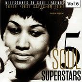 Milestones of Soul Legends: Five Soul Superstars, Vol. 6 by Jackie Wilson