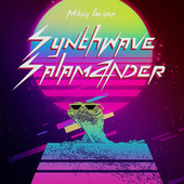 Synthwave Salamander by Mikey Geiger