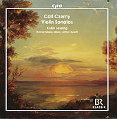 Czerny: Violin Sonatas by Kolja Lessing