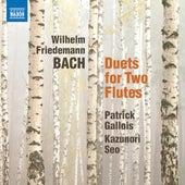W.F. Bach: 6 Duets for 2 Flutes de Patrick Gallois