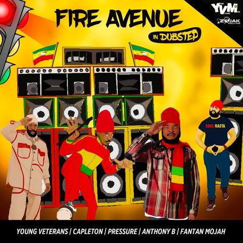 Fire Avenue In Dubstep (feat. Capleton, Pressure, Fantan Mojah, Anthony B) - Single de Young Veterans