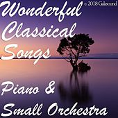 Wonderful Classical Songs Piano & Small Orchestra von Various Artists